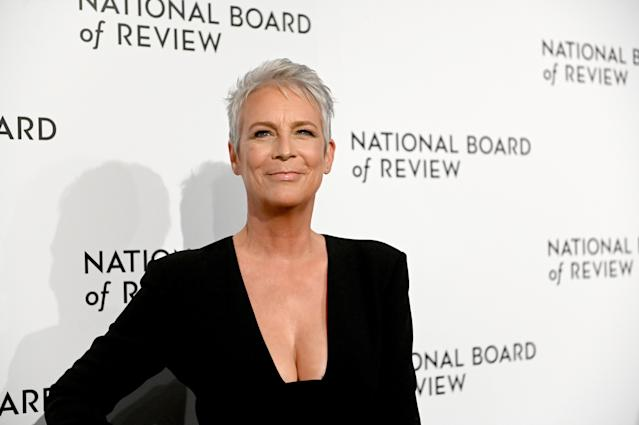 Jamie Lee Curtis at the 2020 National Board Of Review Gala in New York (Mike Coppola/FilmMagic)