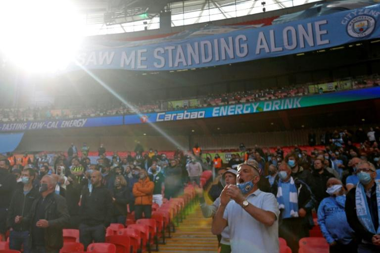 8,000 fans were in attendance for the League Cup final between Tottenham and Manchester City as part of a test event