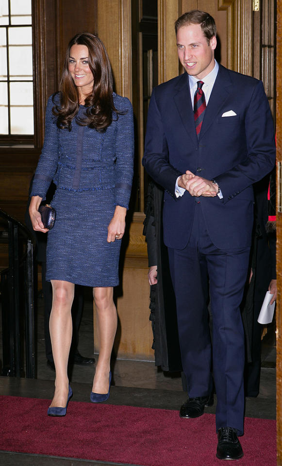 "<p class=""MsoNormal""><span style=""font-size:12.0pt;"">Though rumors began swirling shortly after the two wed last April that Duchess Catherine might be pregnant, so far the couple – who mark their one-year wedding anniversary on Sunday – are just enjoying being newlyweds. Leave 'em alone!<br></span></p>  <span style=""font-size:12.0pt;""></span>"