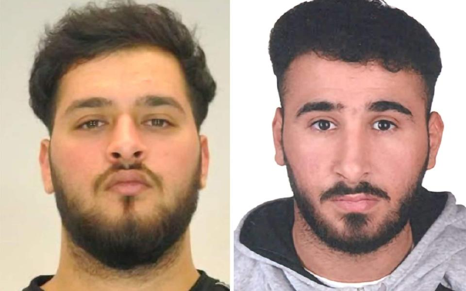 Editorial use only. HANDOUT /NO SALES Mandatory Credit: Photo by POLICE HANDOUT/EPA-EFE/Shutterstock (11019867a) Two mugshots made available by the Dresden police show Mohamed REMMO (21, L) and Abdul Majed REMMO (21, R) who are being searched for in connection with the robbery in the Green Vault in Dresden. According to a police report three people have been arrested in relation to the November 2019 robbery of the Dresden's Treasury Green Vault. Police raid linked to burglary at Green Vault in Dresden, Germany - 17 Nov 2020 - POLICE HANDOUT/EPA-EFE/Shutterstock