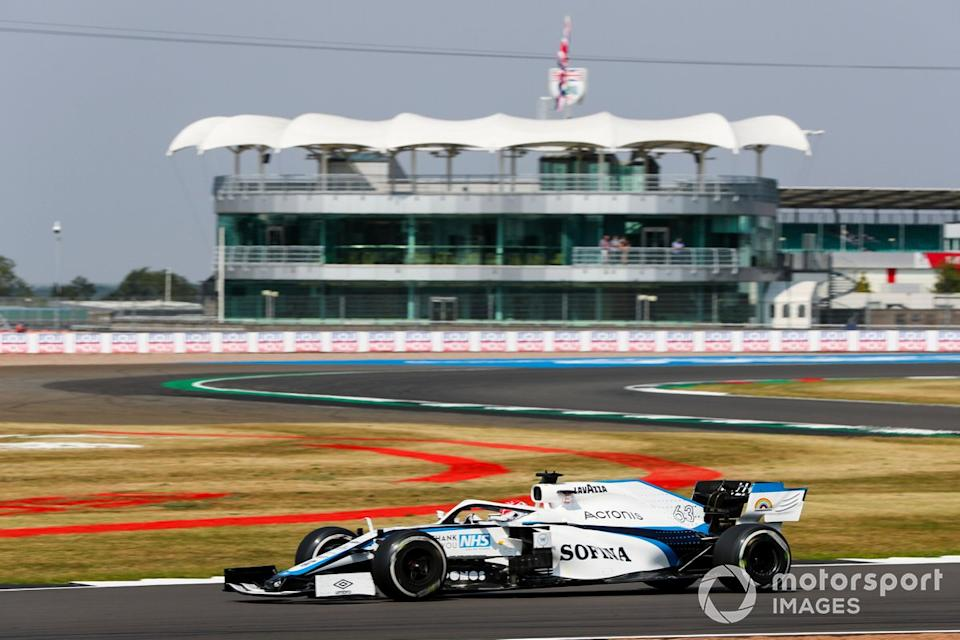 "George Russell, Williams FW43<span class=""copyright"">Charles Coates / Motorsport Images</span>"