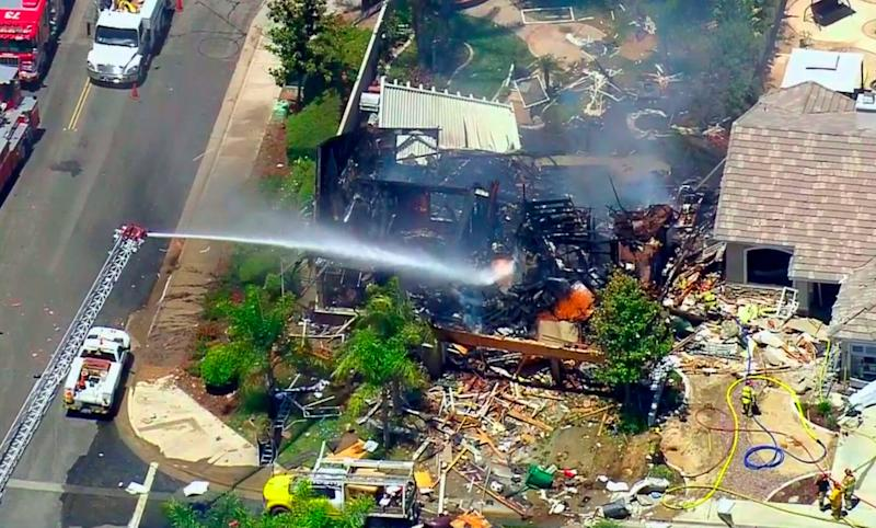 At least 1 dead, 15 injured — including 3 firefighters — in California house explosion