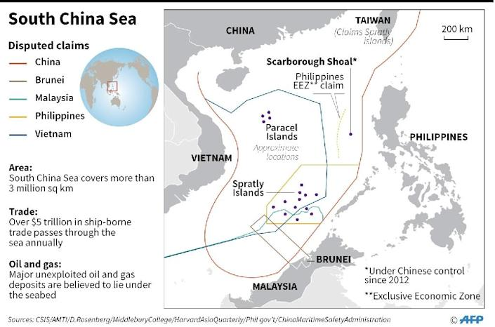 Beijing's assertive stance in the South China Sea and East China Sea have stirred alarm in the region (AFP Photo/)