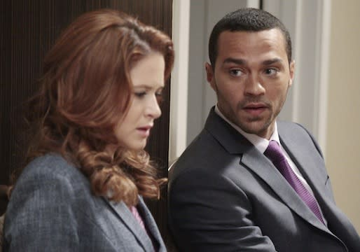 Grey's Anatomy Preview: Jesse Williams Talks Jackson, April, Lexie and the 'Bittersweet' Finale