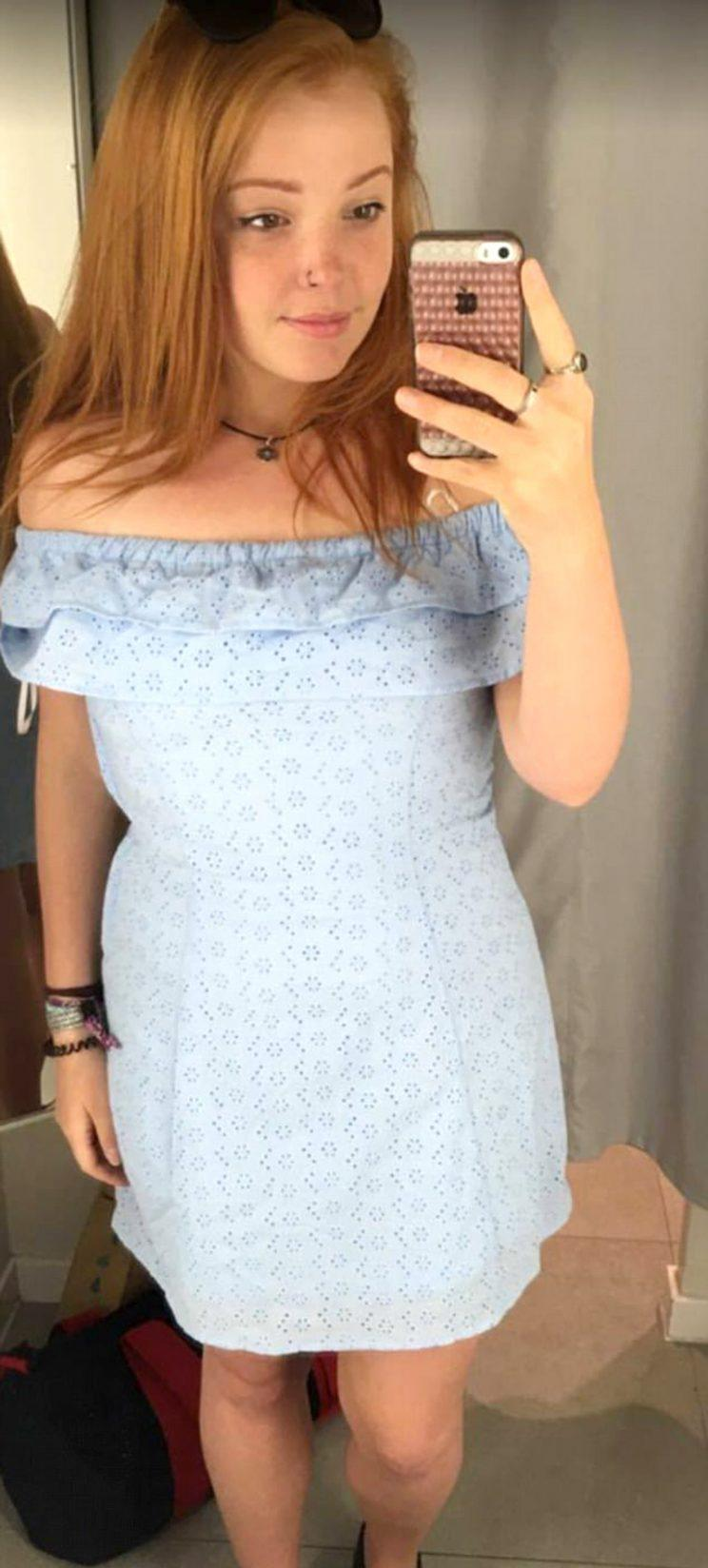<em>Lowri Byrne, who is a size 12, is calling out H&M for its 'ridiculous' sizing policy [Photo: Facebook/Lowri Bryne]</em>
