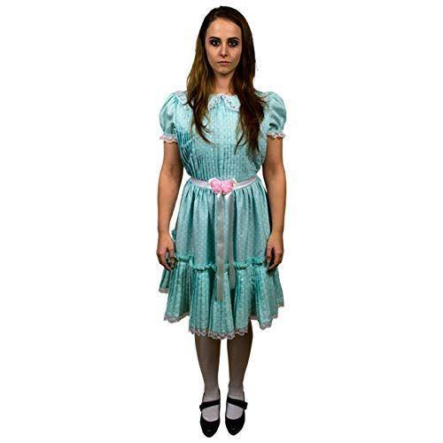 """<p><strong>Trick Or Treat Studios</strong></p><p>amazon.com</p><p><strong>$44.99</strong></p><p><a href=""""https://www.amazon.com/dp/B07HQ9L1P5?tag=syn-yahoo-20&ascsubtag=%5Bartid%7C10055.g.4544%5Bsrc%7Cyahoo-us"""" rel=""""nofollow noopener"""" target=""""_blank"""" data-ylk=""""slk:Shop Now"""" class=""""link rapid-noclick-resp"""">Shop Now</a></p><p>For a truly terrifying costume, grab your BFF and dress as the twins from <em>The Shining</em>. Don't forget to hold hands in all of your pics. </p>"""