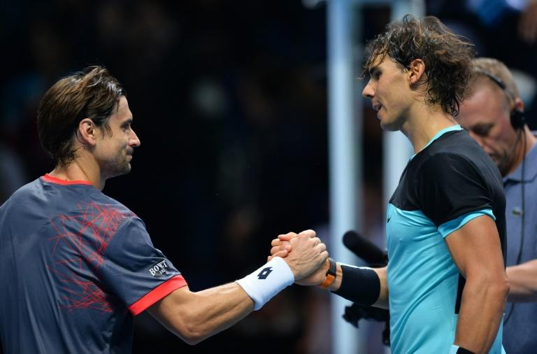 Old friends: Rafael Nadal and David Ferrer