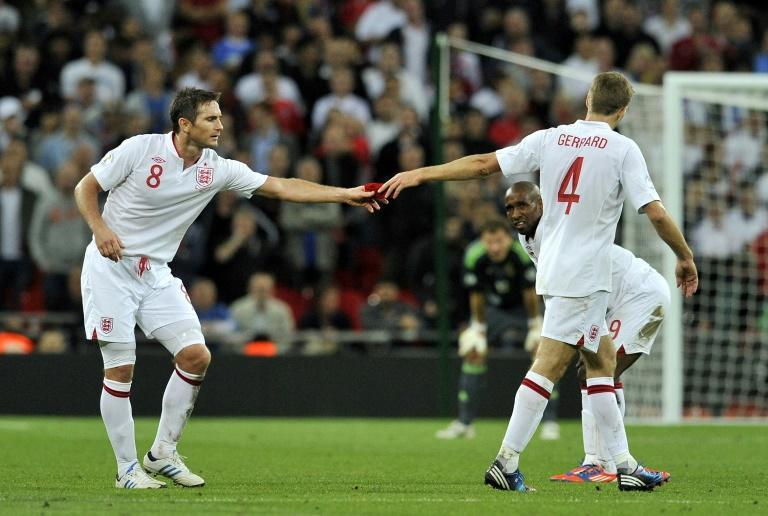 The incompatibility of Frank Lampard (left)and Steven Gerrard (right)was often blamed for England's failure at major tournaments
