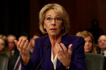 Republican Senators Announce That They Will Vote Against Betsy DeVos