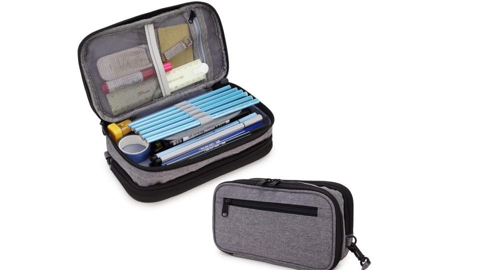 Large Capacity Pencil Holder with Two Compartments - Amazon, $21
