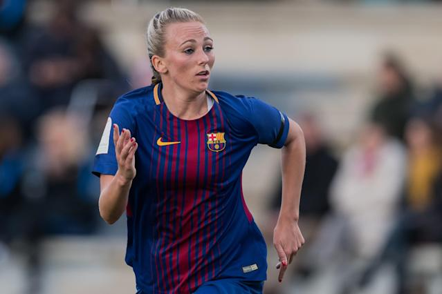 Toni Duggan moved to Barcelona in July and is smashing it