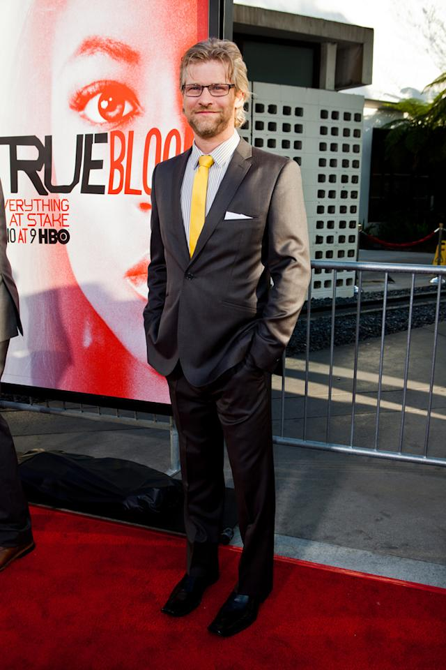 """Todd Lowe attends HBO's """"True Blood"""" Season 5 Los Angeles premiere at ArcLight Cinemas Cinerama Dome on May 30, 2012 in Hollywood, California."""