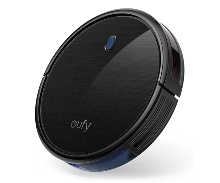 """<p><strong>eufy</strong></p><p>amazon.com</p><p><strong>$259.99</strong></p><p><a href=""""https://www.amazon.com/dp/B07D75MVX9?tag=syn-yahoo-20&ascsubtag=%5Bartid%7C2139.g.37612148%5Bsrc%7Cyahoo-us"""" rel=""""nofollow noopener"""" target=""""_blank"""" data-ylk=""""slk:BUY IT HERE"""" class=""""link rapid-noclick-resp"""">BUY IT HERE</a></p><p>Vacuuming is a literal chore. Get them some help with the app-controlled Eufy Robot Vacuum Cleaner. It's quiet and self-sufficient, cleaning everything from rugs to hardwood to tile. Now if only it could do the dishes...</p>"""