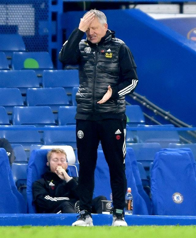 Chris Wilder and Sheffield United are up against it