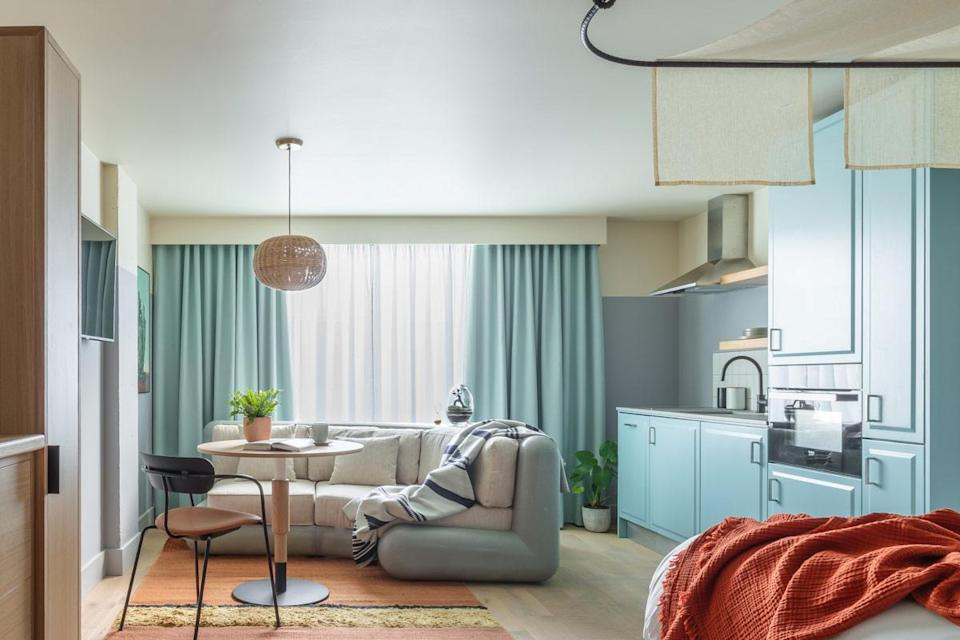 Studio apartments are bright and airy (Bermonds Locke)
