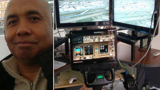 ht abc zaharie simulator split kb 140402 16x9 608 FBI Finishes Probe into Malaysia Airlines Captains Flight Simulator