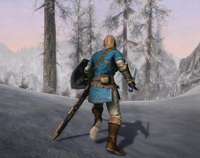 Bethesda's 'Elder Scrolls V: Skyrim' is coming to the Switch with special 'Zelda' armor.