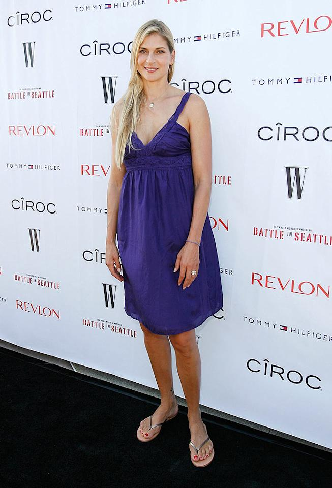 "At 6'3"", volleyball pro turned model Gabrielle Reece commands attention on the court and the red carpet. Donato Sardella/<a href=""http://www.wireimage.com"" target=""new"">WireImage.com</a> - June 29, 2008"