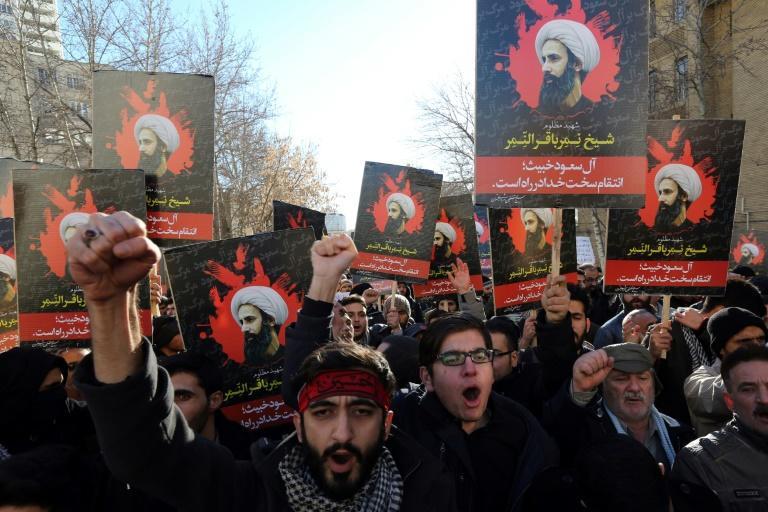 Saudi Arabia has had no diplomatic relations with Iran since January 2016 when protesters angered by its execution of revered Shiite cleric Sheikh Nimr al-Nimr attacked its missions in the capital Tehran and second city Mashhad (AFP Photo/ATTA KENARE)