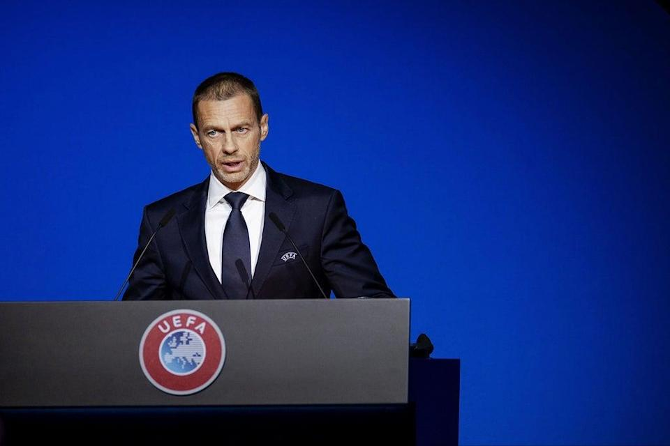 Aleksander Ceferin has claimed European and South American countries could boycott a biennial World Cup  (ANP/AFP via Getty Images)
