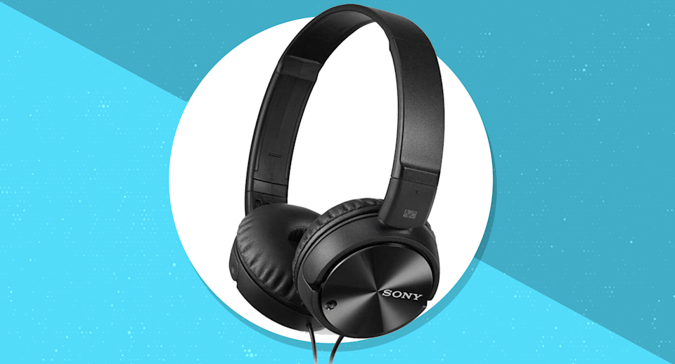 Save 45 percent on these Sony Noise-Canceling Headphones. (Photo: Sony)