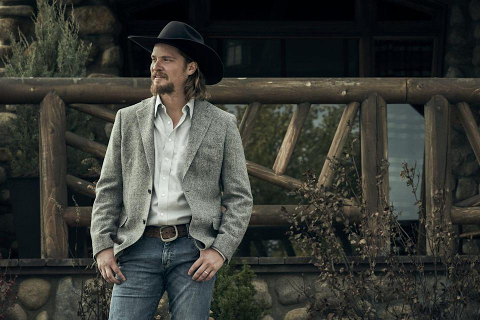 <p>Although Kayce Dutton has a strained relationship with John, he's still the one set to take over his father's ranch. He previously lived on Broken Rock Reservation with his wife, but moved back to the Dutton's ranch for the benefit of their young son.</p><p>Before joining the cast of <em>Yellowstone</em>, Luke had starring roles in <em>American Sniper</em> and the <em>Fifty Shades of Grey </em>franchise.</p>