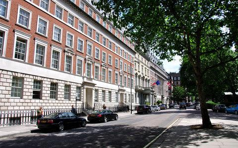 Grosvenor Square, where the freehold is owned by the Grosvenor Estate - Credit: Alamy