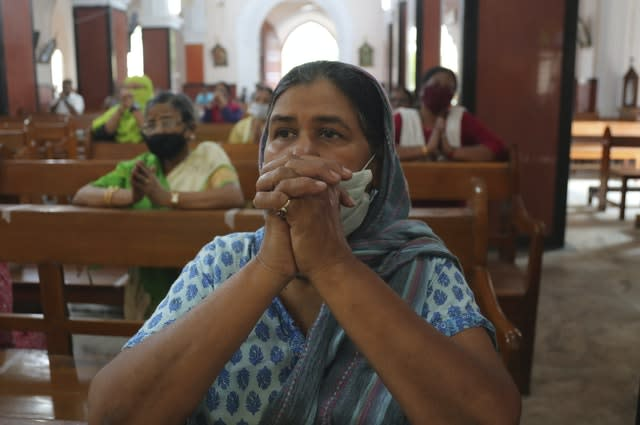 Churches have reopened after lockdown in India