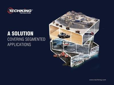 TECHKING Tires are About to Touch the Ground at bauma CHINA2020