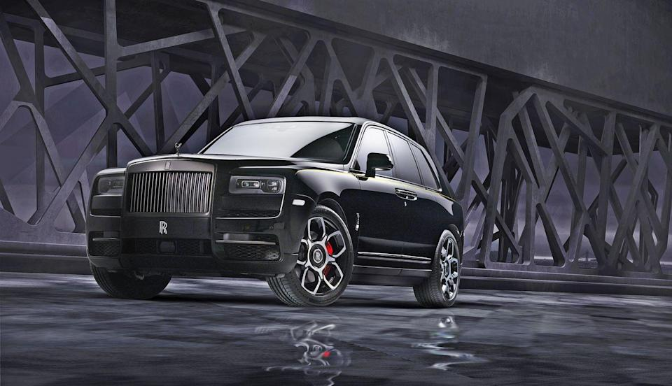 """<p>Last year, the <a href=""""https://www.caranddriver.com/rolls-royce/cullinan"""" rel=""""nofollow noopener"""" target=""""_blank"""" data-ylk=""""slk:Rolls-Royce Cullinan"""" class=""""link rapid-noclick-resp"""">Rolls-Royce Cullinan</a>, the brand's first SUV, ranked 10th on this list. Its 6.7-liter twin-turbo V-12, borrowed from the latest Phantom sedan, makes 563 horsepower and 627 lb-ft of torque. This year, however, Rolls has cranks things up with the Cullinan Black Badge, a more powerful, range-topping version of the world's most regal SUV. In the Black Badge, the V-12's engine control unit is reflashed to produce 600 hp and 664 lb-ft of torque. The only SUV on this list with suicide doors is also the heaviest. During previous testing, the Cullinan <a href=""""https://www.caranddriver.com/reviews/a29622365/2019-rolls-royce-cullinan-by-the-numbers/"""" rel=""""nofollow noopener"""" target=""""_blank"""" data-ylk=""""slk:tipped the scales at 6086 pounds and hit 60 mph in 4.5 seconds"""" class=""""link rapid-noclick-resp"""">tipped the scales at 6086 pounds and hit 60 mph in 4.5 seconds</a>. </p><p><a class=""""link rapid-noclick-resp"""" href=""""https://www.caranddriver.com/rolls-royce/cullinan/specs"""" rel=""""nofollow noopener"""" target=""""_blank"""" data-ylk=""""slk:MORE CULLINAN SPECS"""">MORE CULLINAN SPECS</a></p>"""