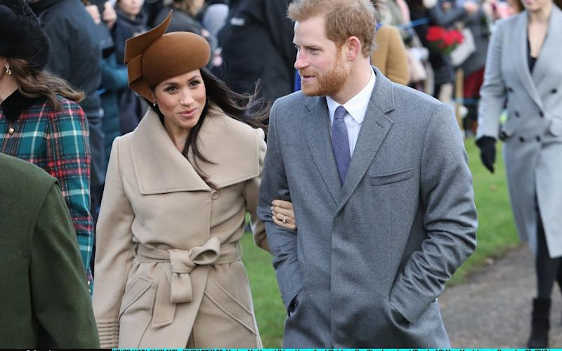 The Duke and Duchess attend a Christmas Day Church service in 2017 - Getty Images