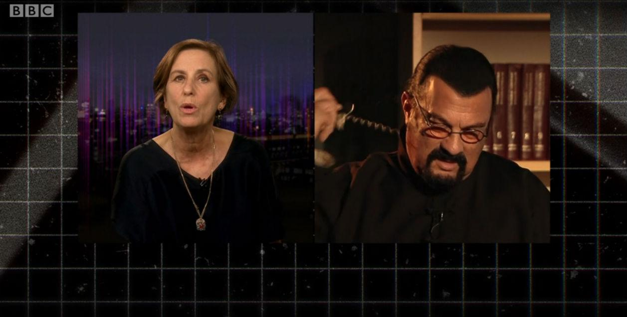 Steven Seagal Walks out of Interview After Question About Rape Allegation