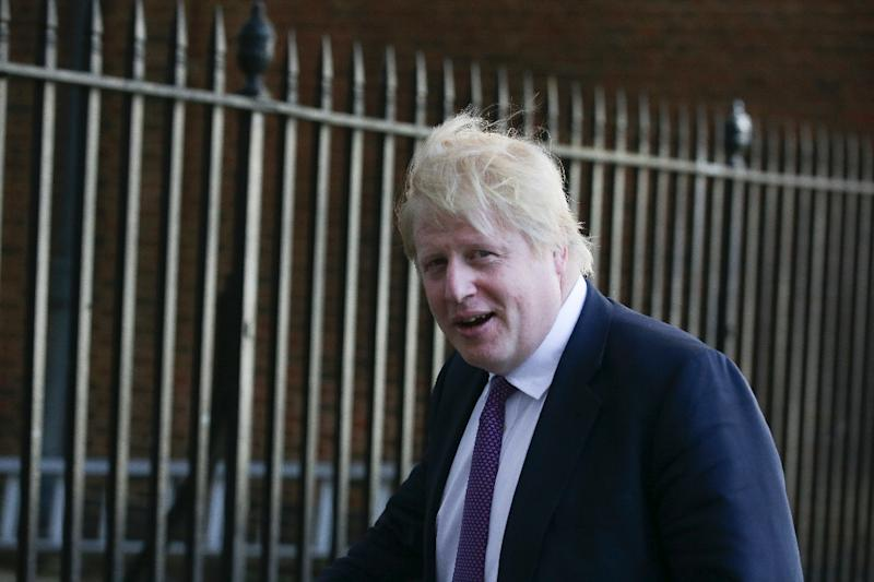 Britain's Foreign Secretary Boris Johnson was a key Brexiteer ahead of last year's referendum which saw Britain vote to end its 44-year membership of the European Union