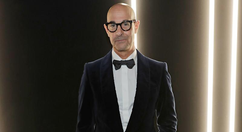 Stanley Tucci gives second cocktail masterclass on gin Martini