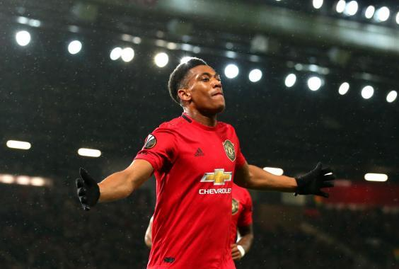 Anthony Martial's solo effort was the highlight in a convincing Manchester United win (Getty)