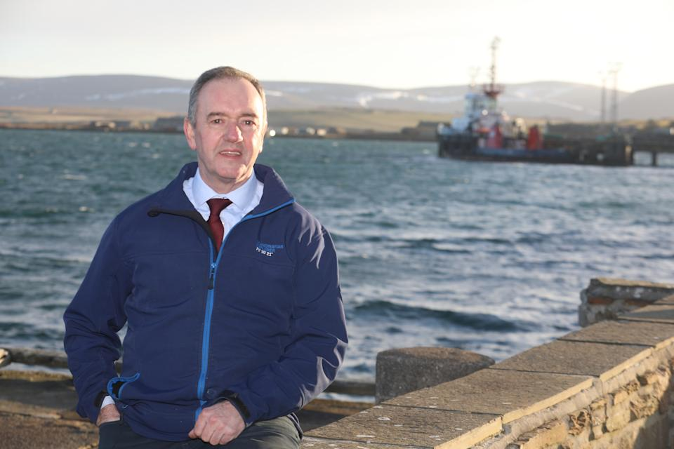 Councillor James Stockan said Orkney's extreme weather conditions made meeting outdoors in the pandemic during winter even harder. (Ken Amer/Orkney Photographic for Yahoo UK)