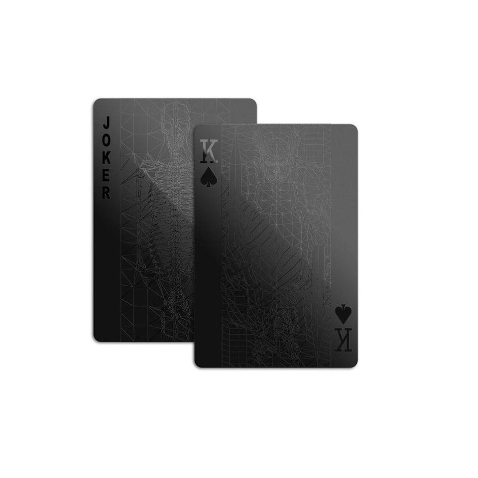 <p>The avid card player would drool over this <span>monochromatic deck of cards</span> ($10). </p>