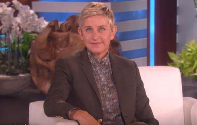 Jess was a little lost during an interview this week on The Ellen Show. Source: Ellen