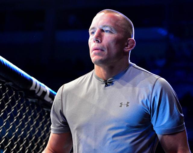 GSP says he declined Anderson Silva fight, fears Silva's PED test was 'tip of iceberg'