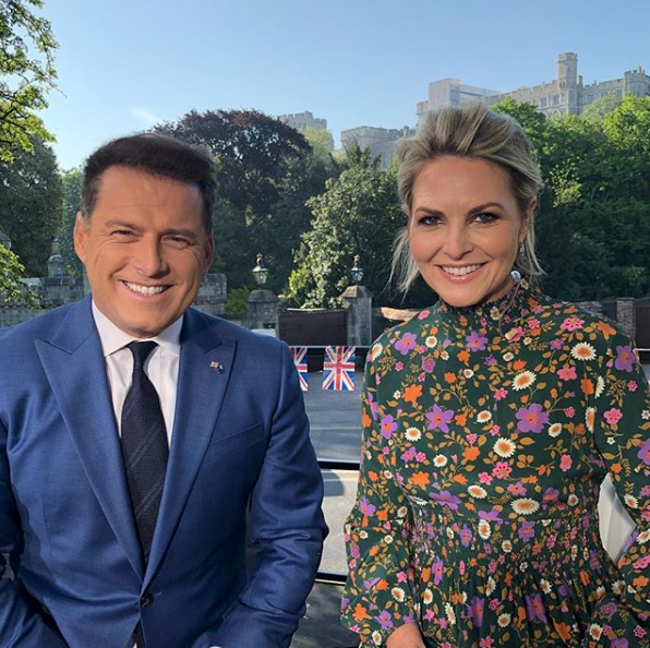 """<p>Channel Nine's Georgie Gardner hit back at critics who slammed her floral dress during the royal wedding broadcast. The 47-year-old reporter, who has taken Lisa Wilkinson's former position as Channel Nine host on Today, posted this snap.<br />Accompanied was a caption reading: """"Never in my career have I worn a dress that has attracted more conjecture. For the record, thanks Scanlan Theodore, I adore it and as you know choose everything I wear. For those I have offended, I'm sorry it's not to your liking, but at the end of the day it's not my day, the day belongs to the magnificent Meghan.""""<br />Source: Instagram/georgiegardner9 </p>"""