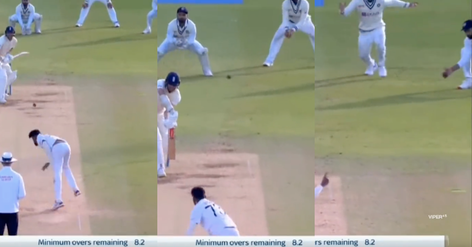 Watch: Rohit Sharma's Unnoticed One-Handed Stunner Catch In Lord's Test