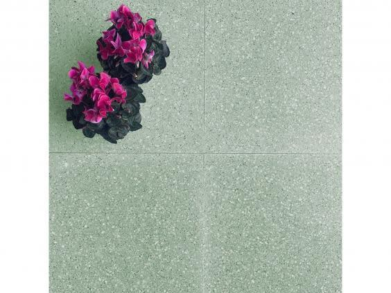 Make a splash with terrazzo flooring to introduce colour to your home (Otto Tiles)