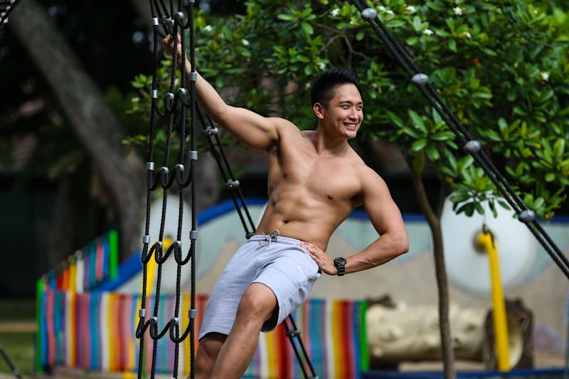 Singapore #Fitspo of the Week: Lucas Lim (PHOTO: Cheryl Tay)