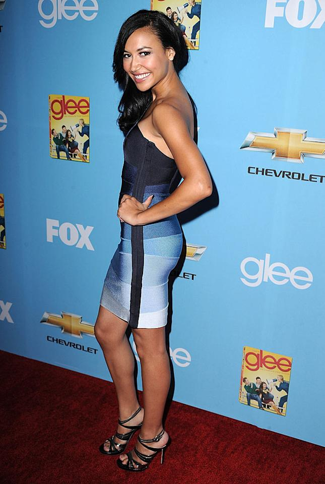 "Hottie Naya Rivera is always gorgeous, but her Herve Leger bandage dress has got to go. A few too many starlets before her have rocked it at events. Steve Granitz/<a href=""http://www.wireimage.com"" target=""new"">WireImage.com</a> - September 7, 2010"