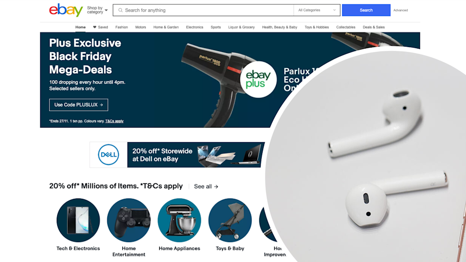 eBay's Black Friday deals have been revealed. Source: Getty