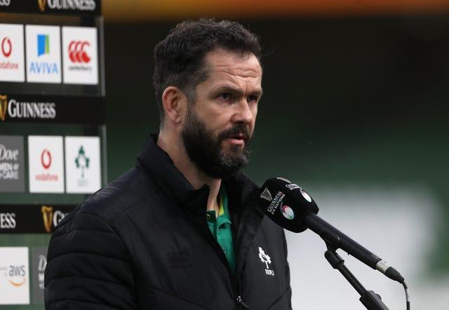Ireland suffered a first home defeat under head coach Andy Farrell