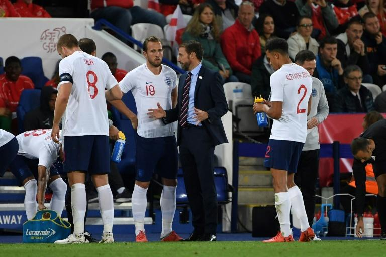 The first-half was uncomfortable viewing for England boss Gareth Southgate