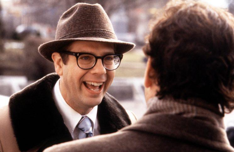 Tobolowsky as Ned Ryerson in 'Groundhog Day' (Photo: Everett Collection)