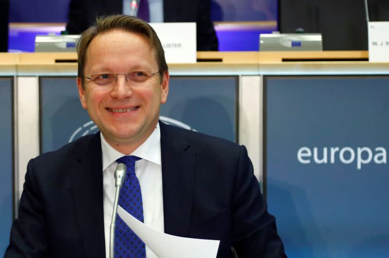 EU's Varhelyi: accession talks with two Balkan states could open in weeks