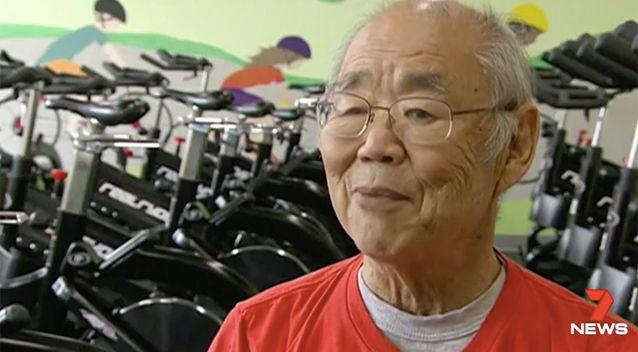 Parkison's patient Paul Shinoda has praised the cycling therapy. Photo: 7 News